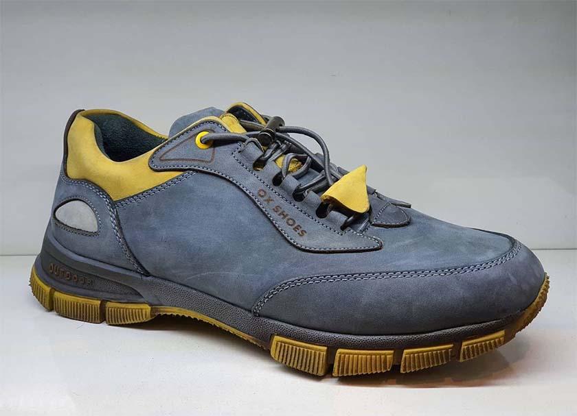 کفش اسپرت مردانه چرم طبیعی کد 026