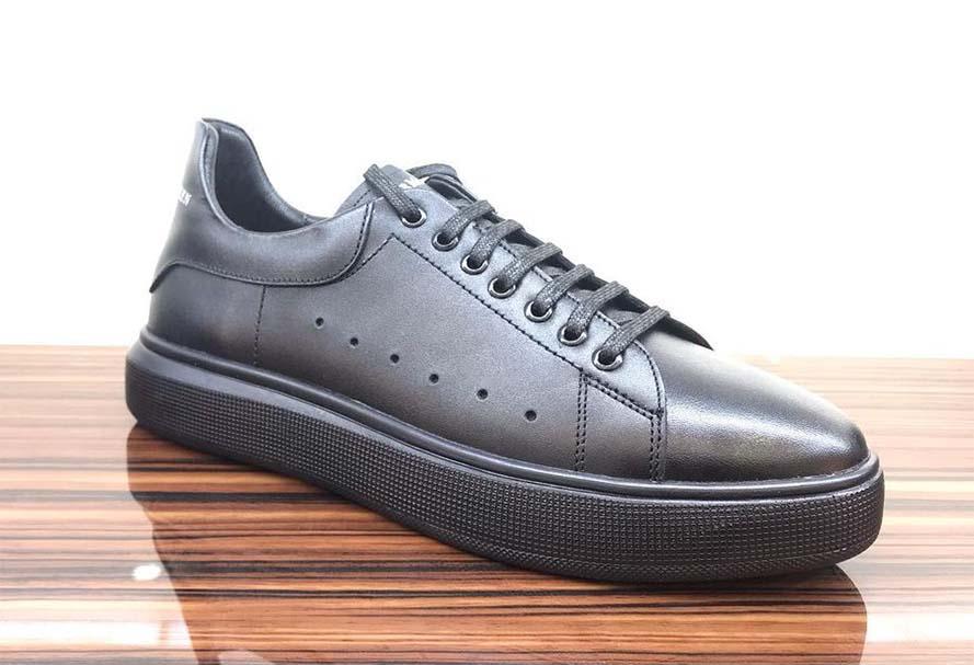 کفش اسپرت مردانه چرم طبیعی  کد 112