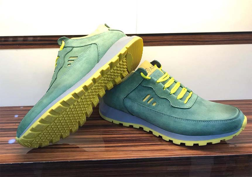 کفش اسپرت مردانه چرم طبیعی  کد 114