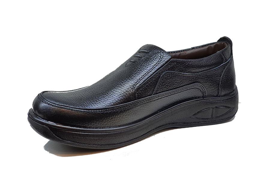 کفش راحتی مردانه تمام  چرم  کد 115