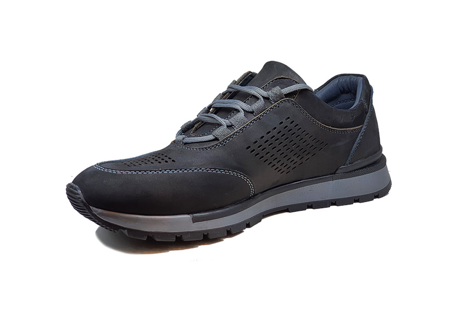 کفش اسپرت مردانه چرم طبیعی  کد 121