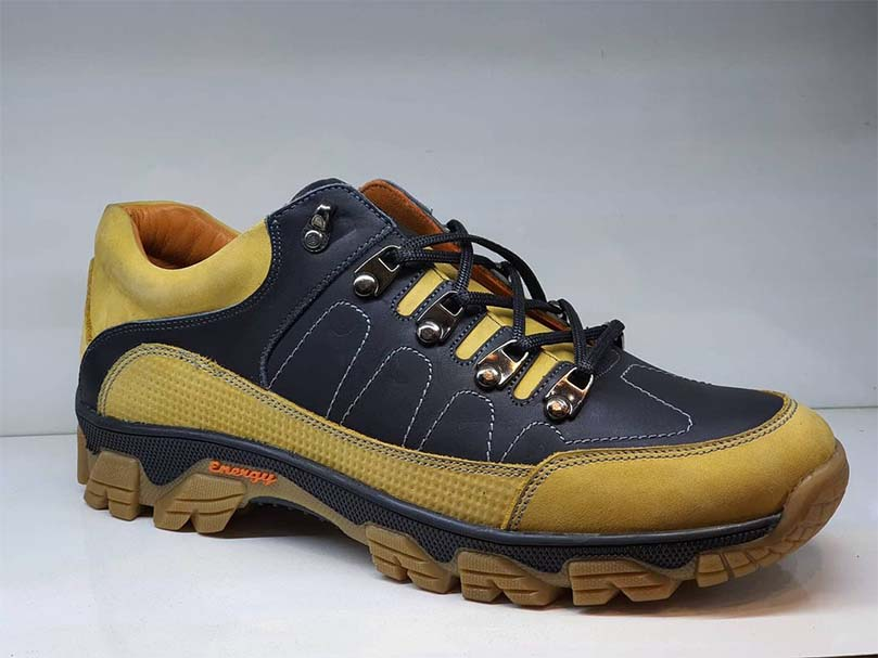 کفش اسپرت مردانه چرم طبیعی و دستدوز کد 029