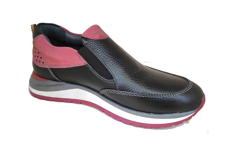 کفش اسپرت   مردانه  چرم طبیعی کد 154