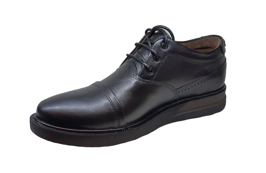 کفش راحتی مردانه چرم  طبیعی تبریز کد 166
