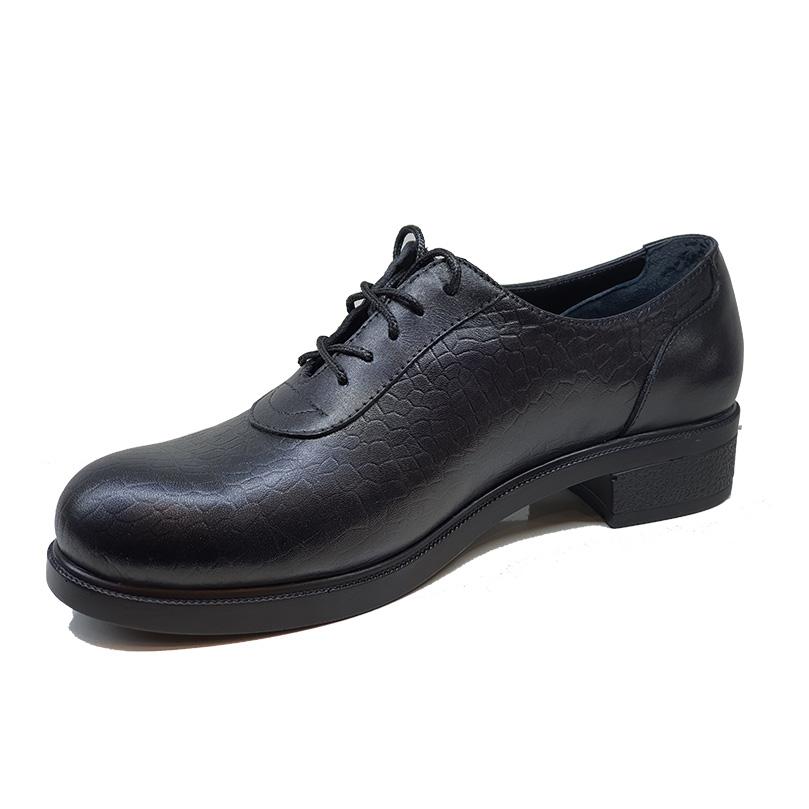 کفش زنانه چرم طبیعی دست دوز تبریز کد 170