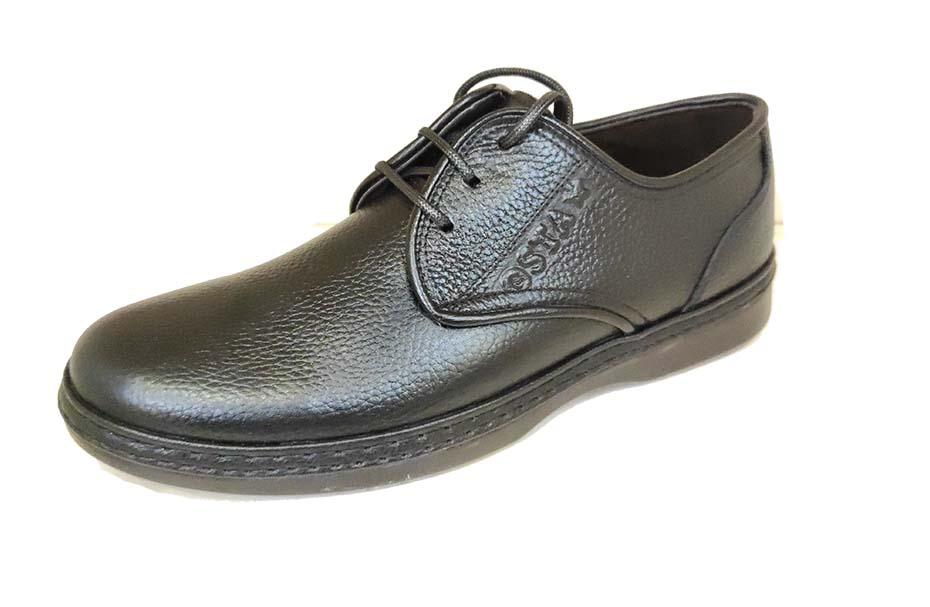 کفش راحتی مردانه چرم طبیعی تبریز کد 216
