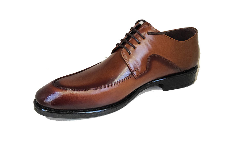 کفش مجلسی مردانه چرم طبیعی تبریز کد 218
