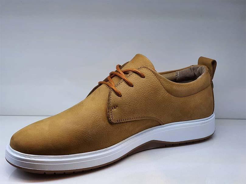 کفش راحتی مردانه تمام  چرم  کد 063