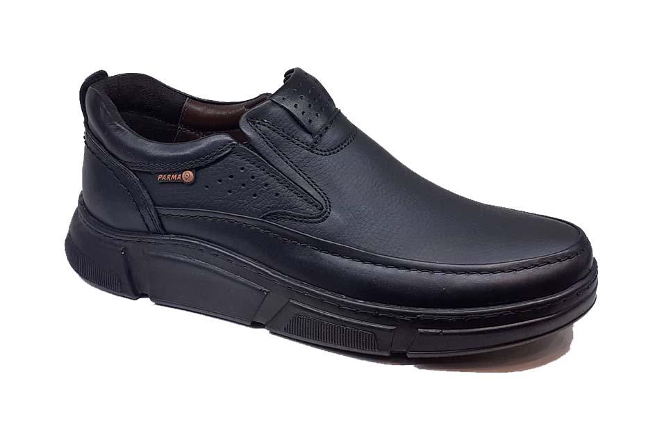 کفش راحتی مردانه تمام  چرم  کد 077