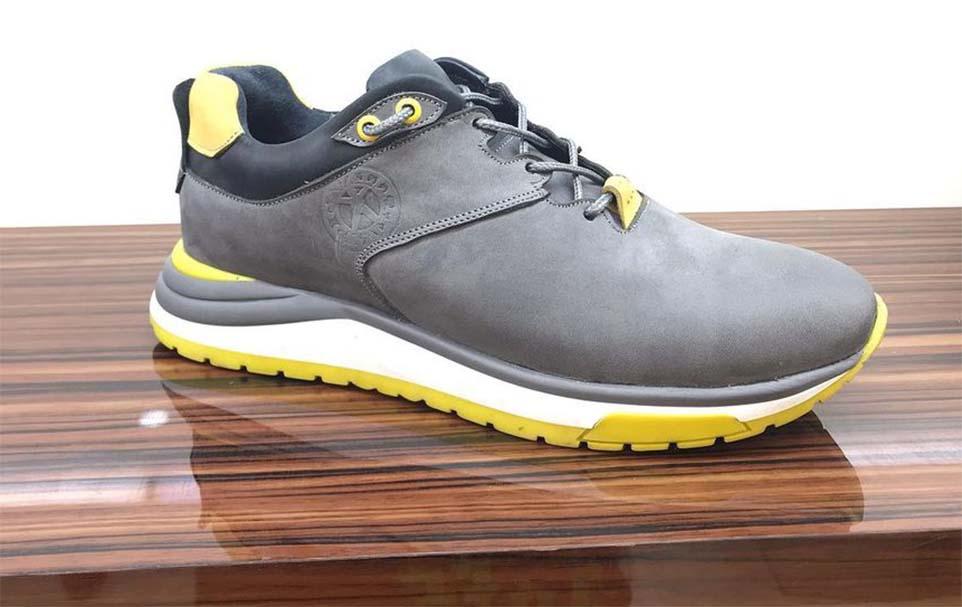 کفش اسپرت مردانه چرم طبیعی  کد 107