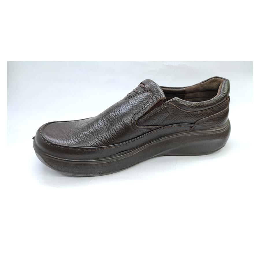 کفش طبی راحتی مردانه چرم طبیعی  تبریز کد 711