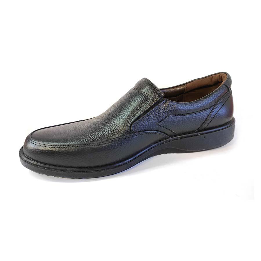 کفش طبی راحتی مردانه چرم طبیعی تبریز کد 718