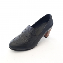کفش زنانه مجلسی چرم طبیعی دست دوز تبریز کد 105