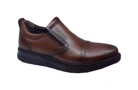 کفش  طبی مردانه تمام  چرم  کد 053