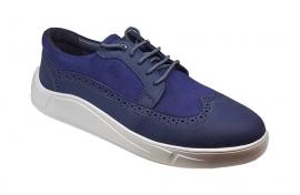 کفش اسپرت مردانه چرم طبیعی  کد 059