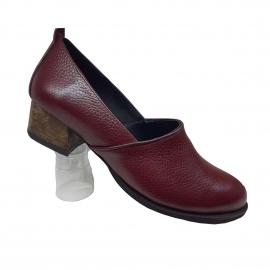 کفش زنانه چرم طبیعی دست دوز تبریز کد 086