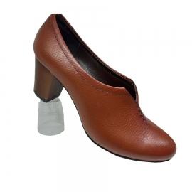 کفش زنانه چرم طبیعی دست دوز تبریز کد 089