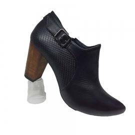 کفش زنانه چرم طبیعی دست دوز تبریز کد 090
