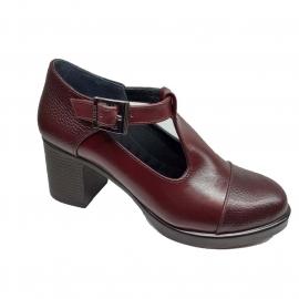 کفش زنانه چرم طبیعی دست دوز تبریز کد 097