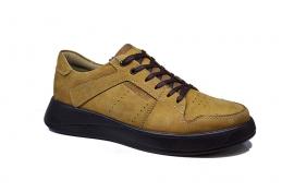 کفش اسپرت مردانه چرم طبیعی  کد 119