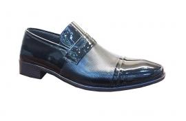 کفش ورنی مجلسی مردانه چرم  طبیعی دستدوز  تبریز کد126
