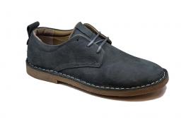 کفش راحتی مردانه چرم طبیعی تبریز کد 209