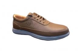 کفش راحتی مردانه چرم طبیعی  کد 212