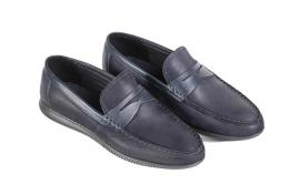 کفش کالج مردانه چرم مدل مادو Mado  کد 222