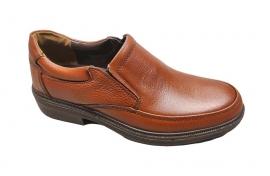 کفش راحتی مردانه چرم  طبیعی کد 298