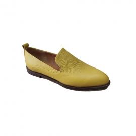 کفش راحتی  زنانه  چرم طبیعی دست دوز تبریز کد 304