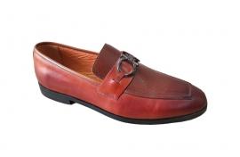 کفش کالج کلاسیک مردانه چرم گاوی تبریز کد 307