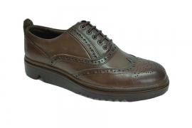 کفش مجلسی مردانه تمام چرم طبیعی گاوی تبریز کد 321