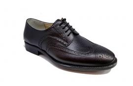 کفش مجلسی مردانه تمام چرم طبیعی گاوی تبریز کد 333