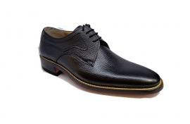 کفش مجلسی مردانه تمام چرم طبیعی گاوی تبریز کد 334
