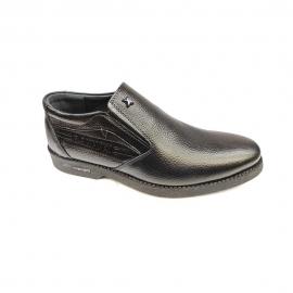 کفش راحتی مردانه تمام چرم طبیعی گاوی تبریز کد 337