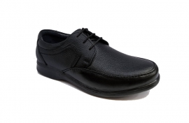 کفش راحتی مردانه تمام چرم طبیعی گاوی تبریز کد 339