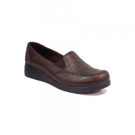 کفش راحتی زنانه  چرم طبیعی دست دوز تبریز کد 341