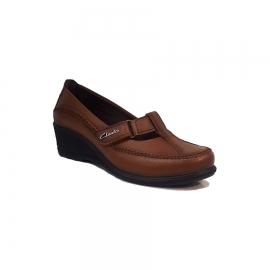 کفش راحتی زنانه  چرم طبیعی دست دوز تبریز کد 342