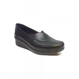 کفش راحتی زنانه  چرم طبیعی دست دوز تبریز کد 346