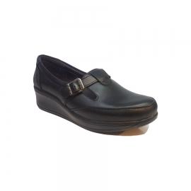 کفش راحتی زنانه  چرم طبیعی دست دوز تبریز کد 350