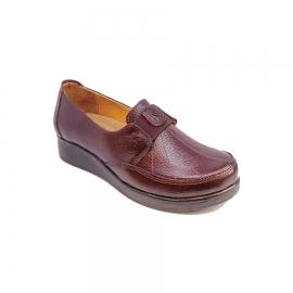کفش راحتی زنانه  چرم طبیعی دست دوز تبریز کد 351