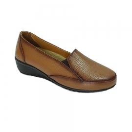 کفش طبی راحتی زنانه  چرم طبیعی دست دوز تبریز کد 352