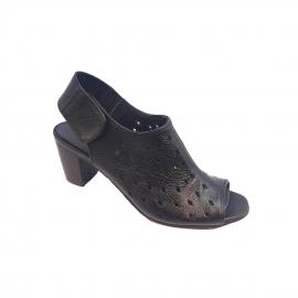 کفش تابستانی زنانه چرم طبیعی  تبریز کد 417