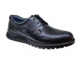 کفش طبی مردانه چرم طبیعی تبریز کد 425
