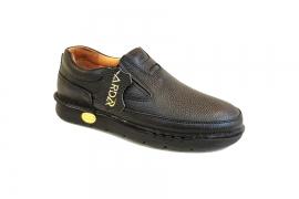 کفش طبی راحتی مردانه چرم طبیعی تبریز کد 438