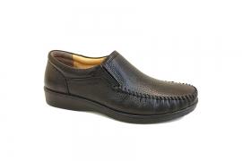 کفش راحتی مردانه چرم طبیعی تبریز کد440