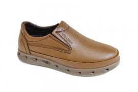 کفش طبی راحتی مردانه چرم طبیعی تبریز کد447