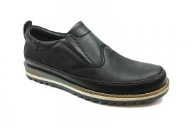 کفش اسپرت راحتی مردانه چرم طبیعی  تبریز کد470
