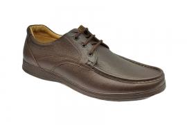 کفش مجلسی مردانه بزرگ پا چرم طبیعی تبریز کد485