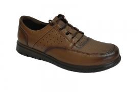 کفش طبی راحتی مردانه چرم طبیعی تبریز کد523